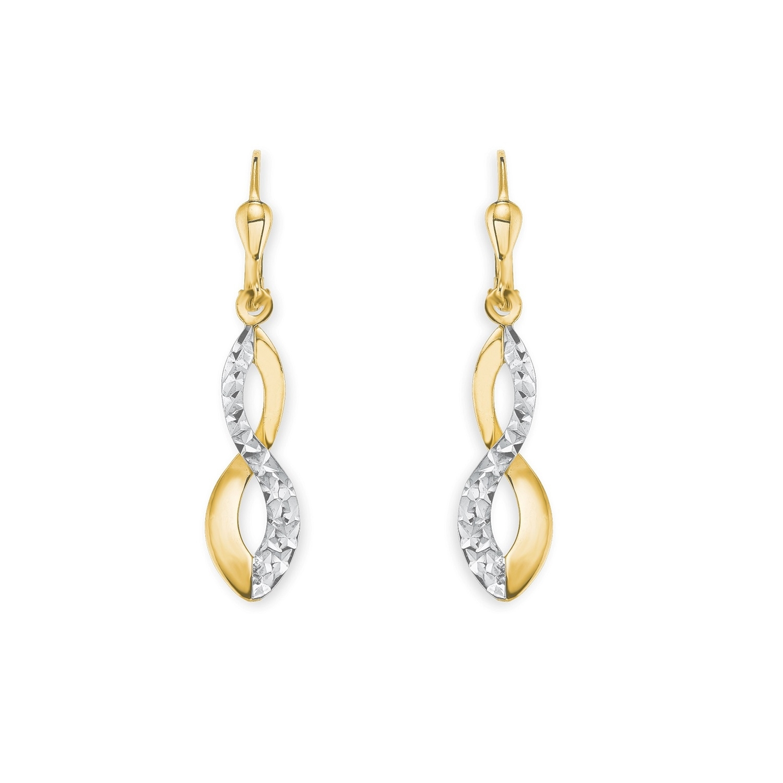 Ohrhänger für Damen, Gold 585