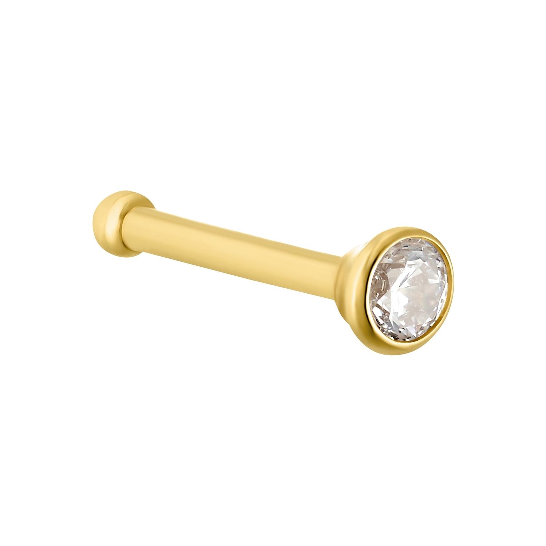 Nasenpiercing für Damen, 750 Gold