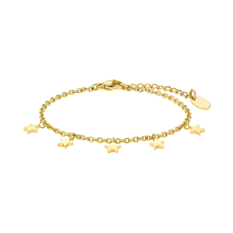 Armkette für Damen, Edelstahl, Stern