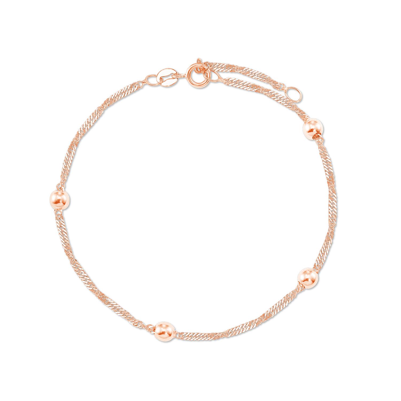 Armband Rosegold 375
