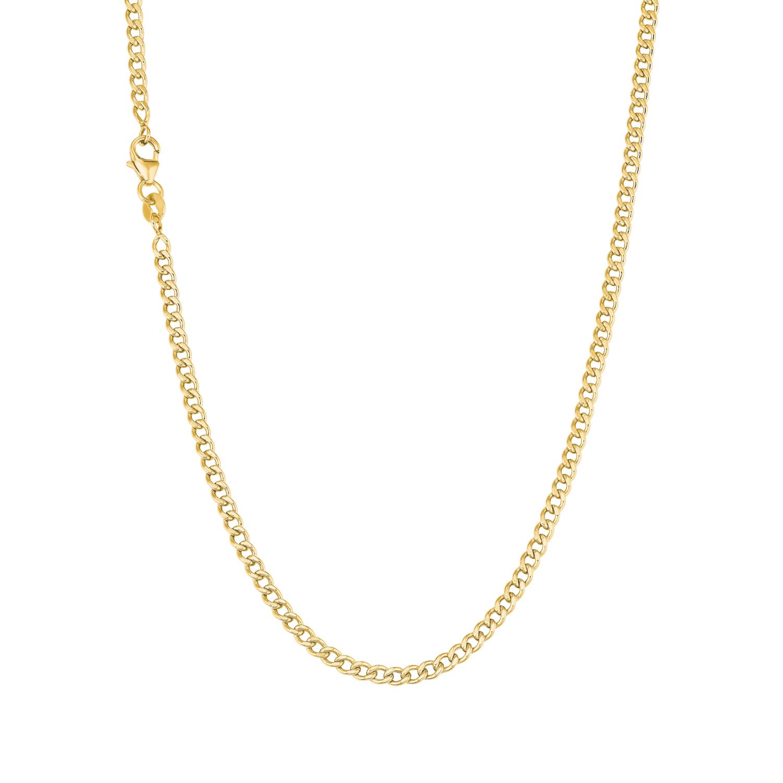 Halskette für Damen, Gold 375