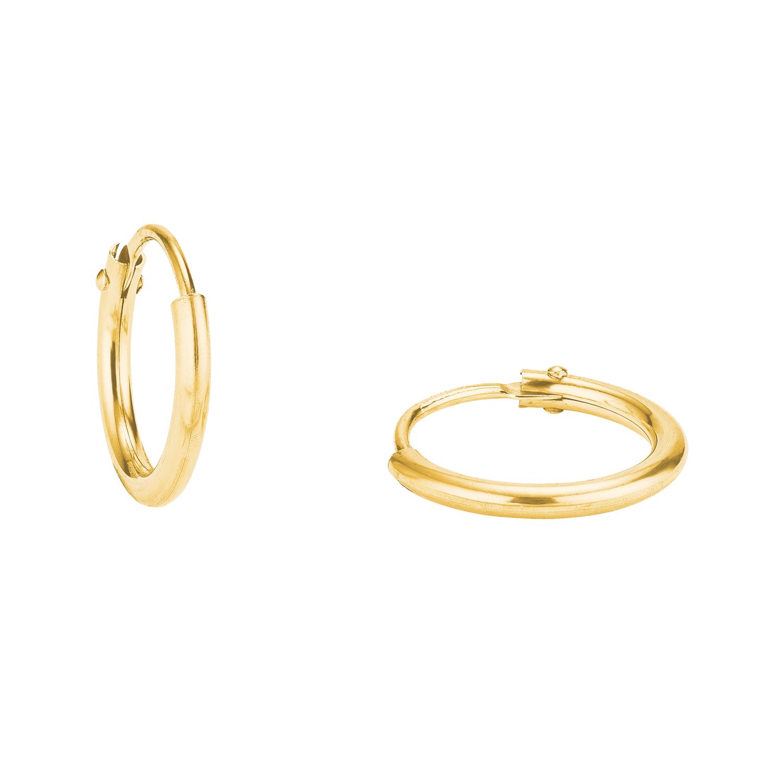 Creolen Gold 375/9 ct