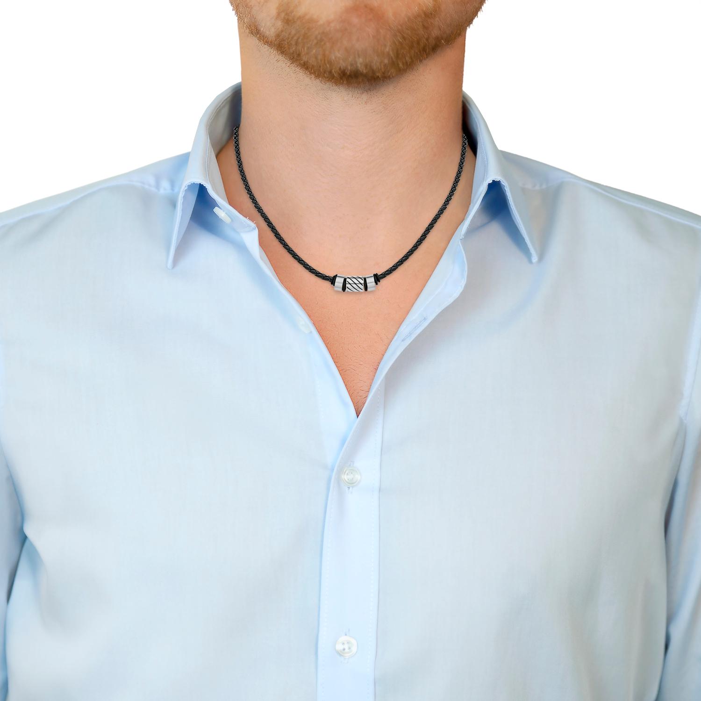 Halsband für Herren, Edelstahl