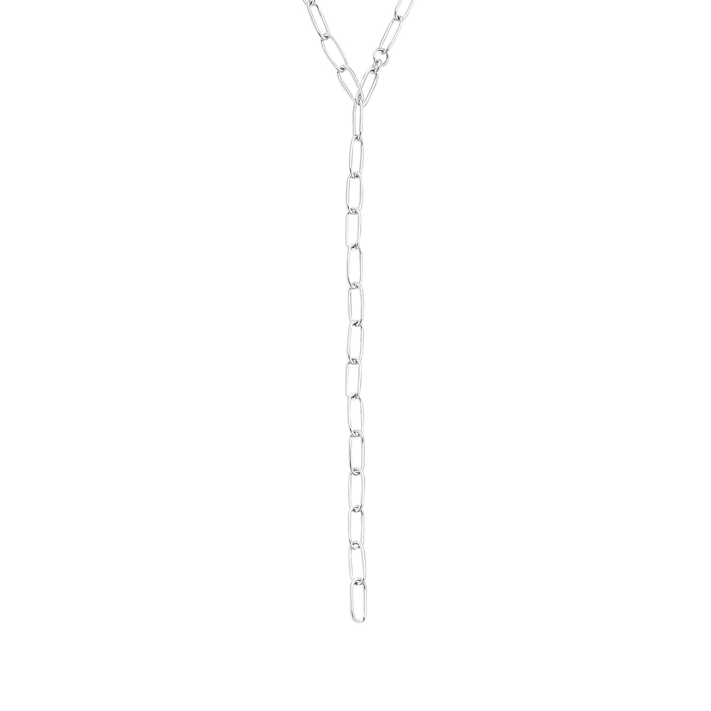 Collier für Damen, Y-Collier, Silber 925