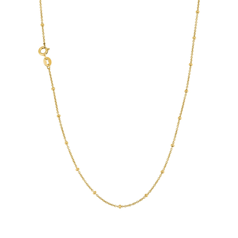 Collier für Damen, Gold 375, Kugel