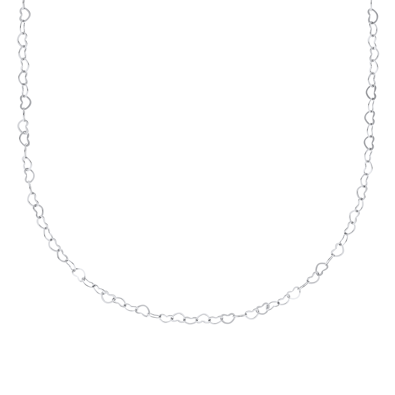 HEARTS Collier Unisex, Sterling Silber 925, Herz