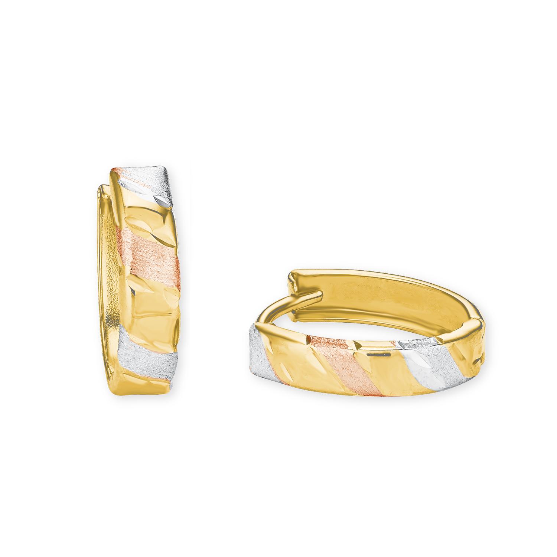 Creole für Damen, Gold 585