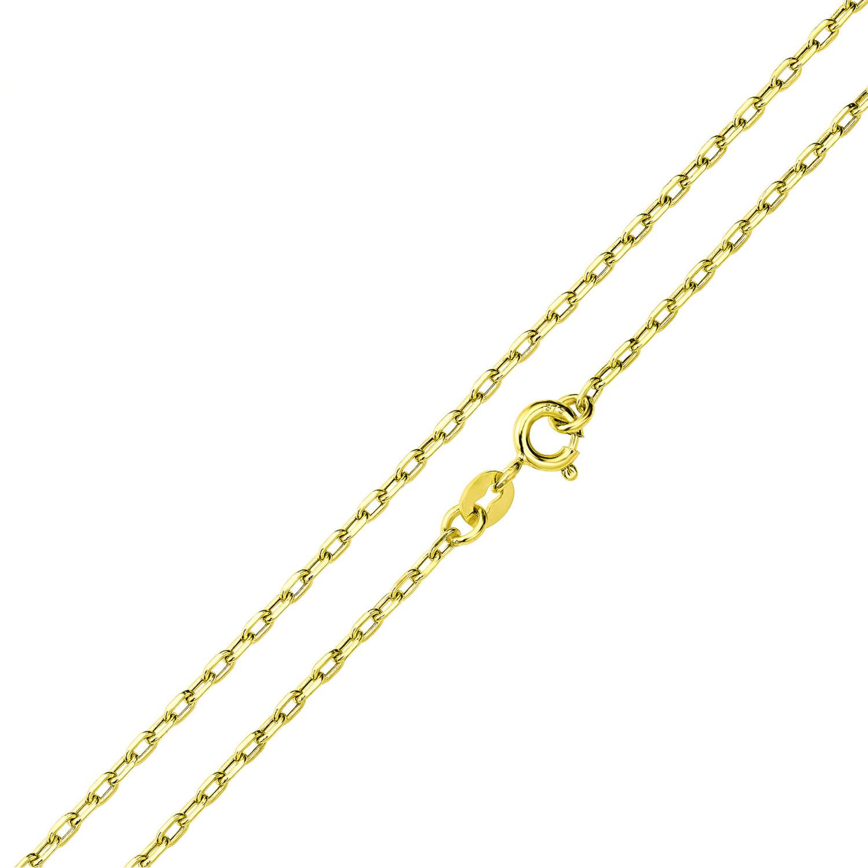 Halskette Unisex, Gold 375