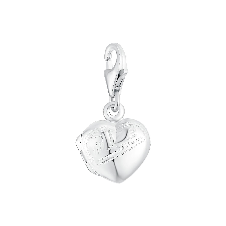 Charms für Damen, 925 Sterling Silber | Herz