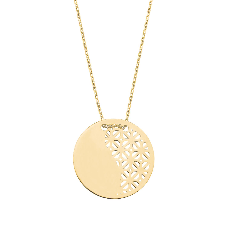 Kette mit Anhänger für Damen, Gold 375, Motiv