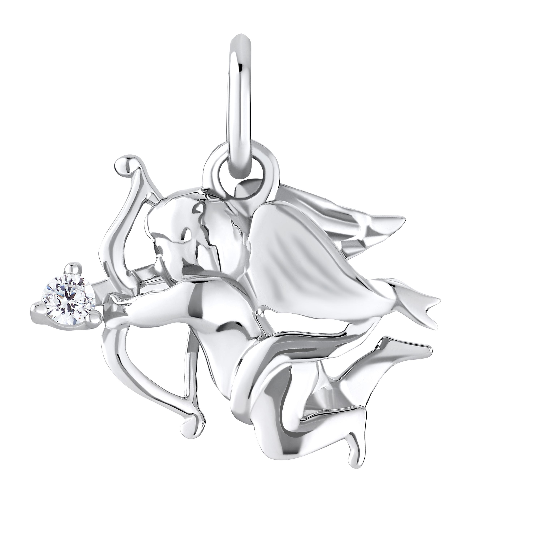 Anhänger Sterling Silber 925, Amor mit Pfeil und Bogen