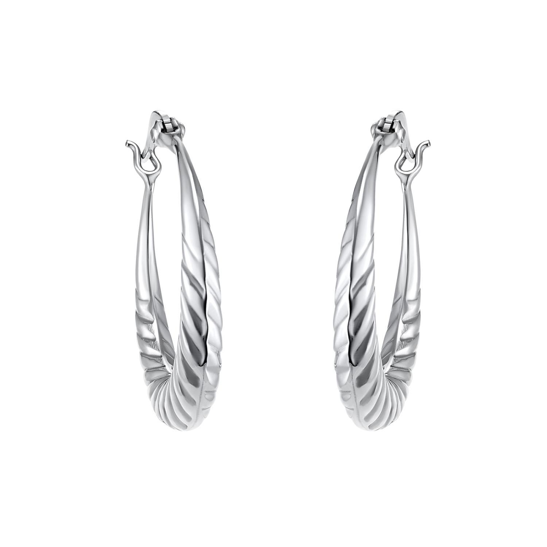 Creolen für Damen, Silber 925
