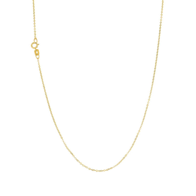 Collier Unisex, Gold 375, Ankerkette 45 cm