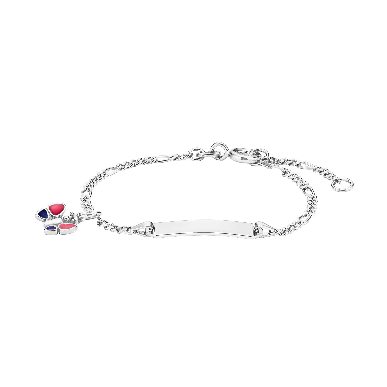 Armband für Mädchen aus Silber 925, 12+2 cm