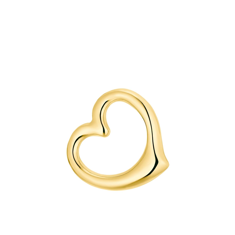 Motivanhänger für Damen, 585 Gold | Herz