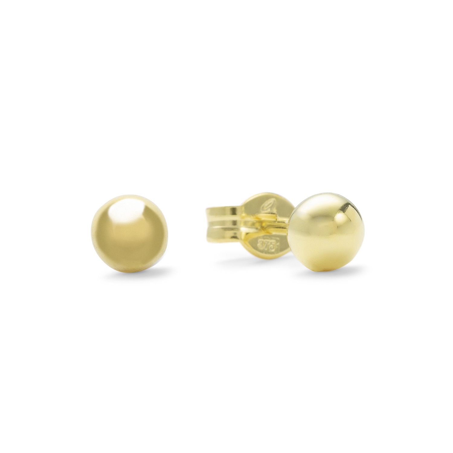 Ohrstecker Unisex, Gold 375