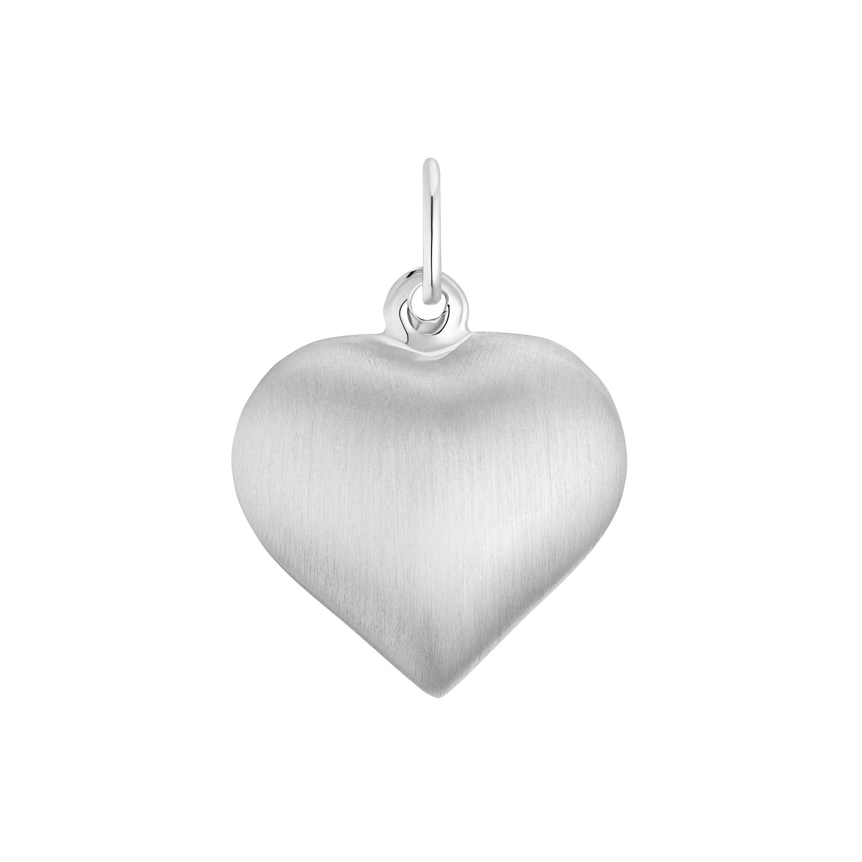 Motivanhänger für Damen, 925 Sterling Silber  | Herz