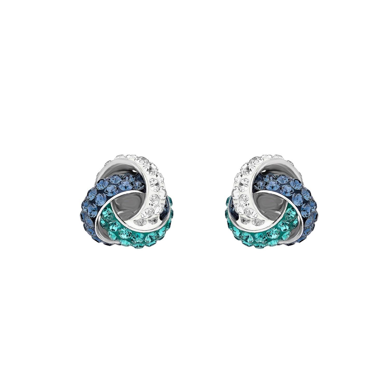 Ohrstecker für Damen, Sterling Silber 925, Swarovski Kristall®