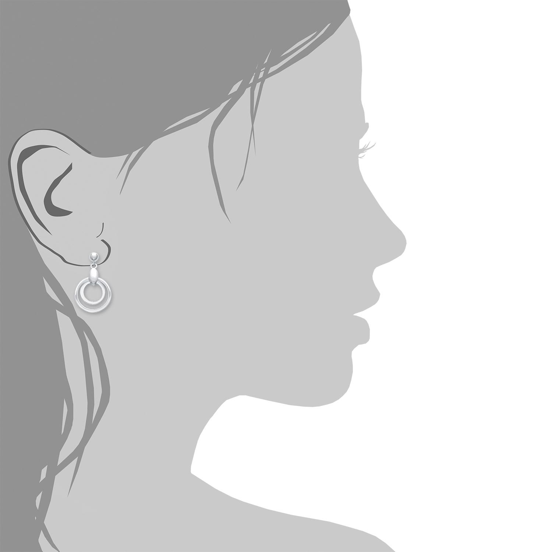 Ohrring für Damen, Sterling Silber 925