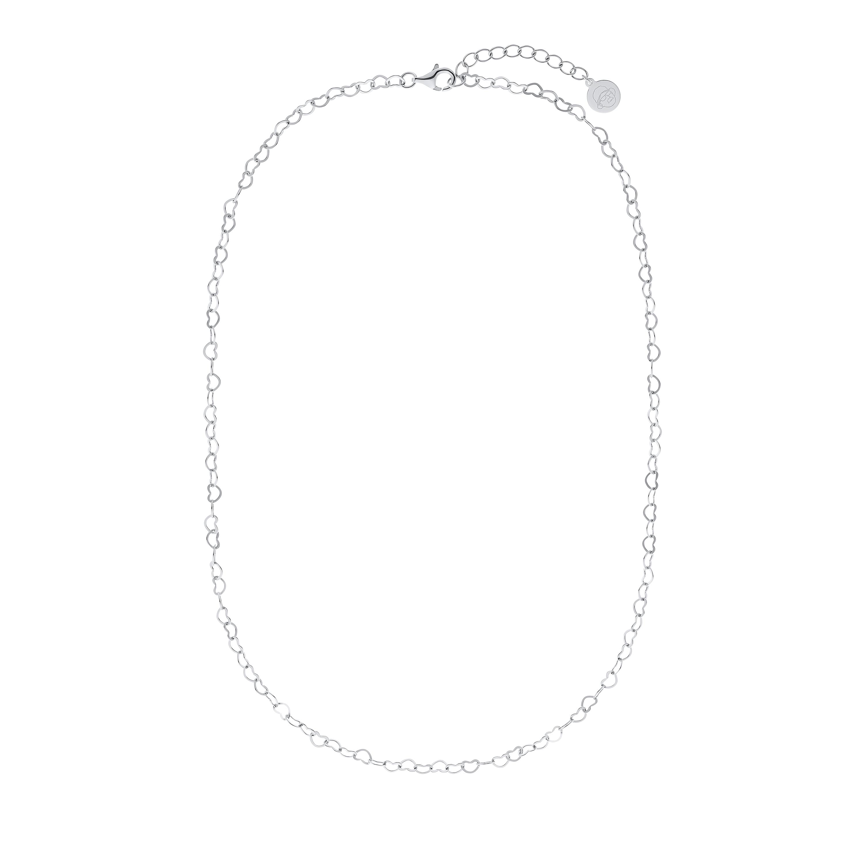 HEARTS Collier für Damen, Sterling Silber 925, Herz