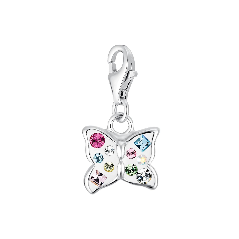 Charm für Damen, 925 Sterling  Silber  Preciosa | Schmetterling