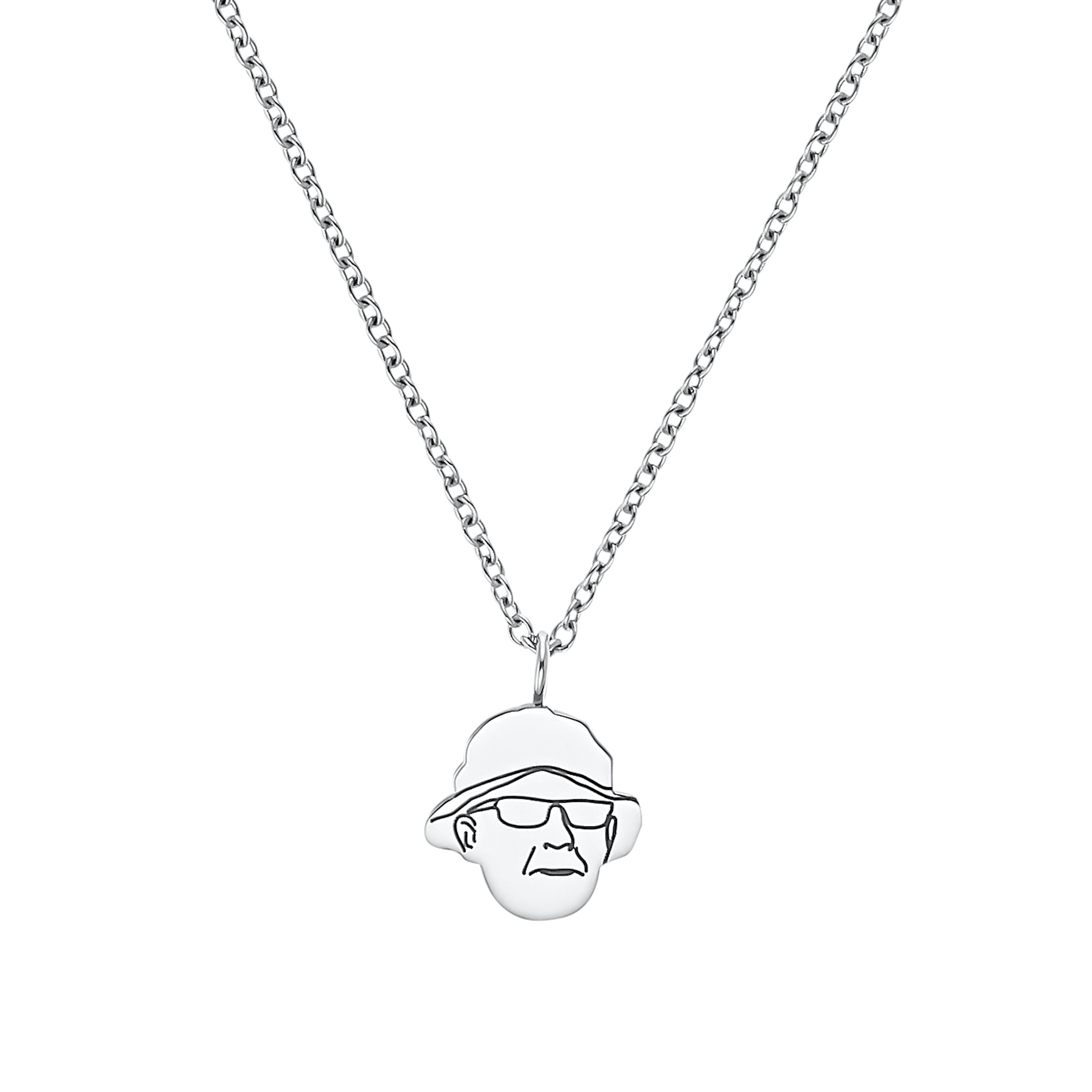 Kette mit Anhänger Unisex, Stainless Steel, Special Edition Gramps