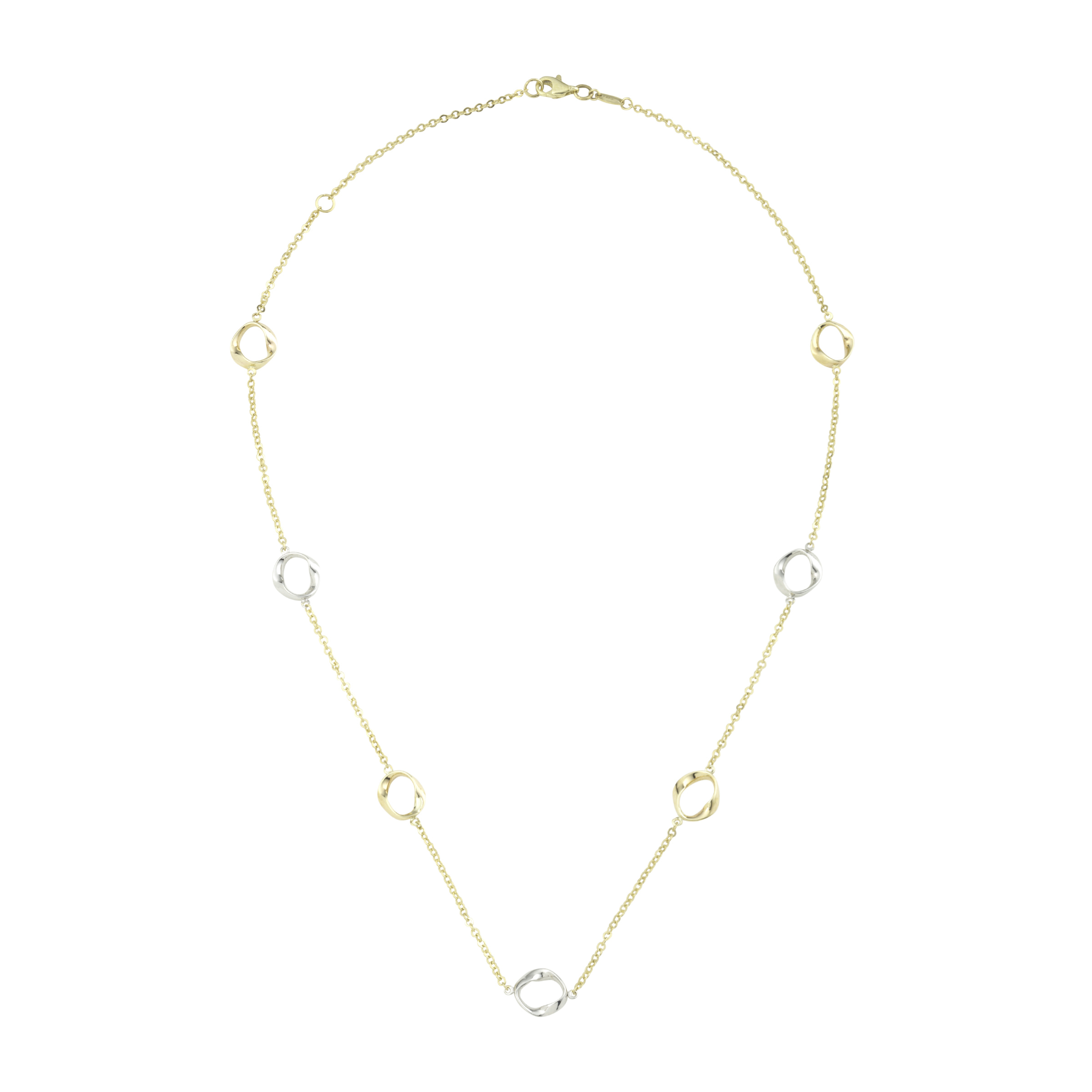 Collier für Damen, Gold 375, Fantasie