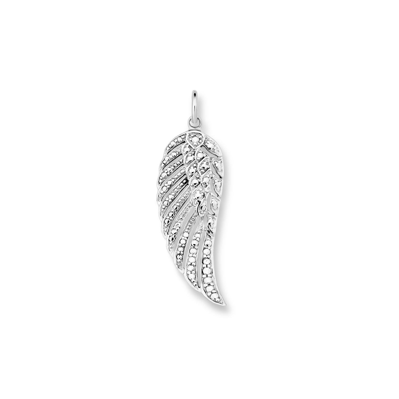 Anhänger für Damen, Sterling Silber 925, Flügel