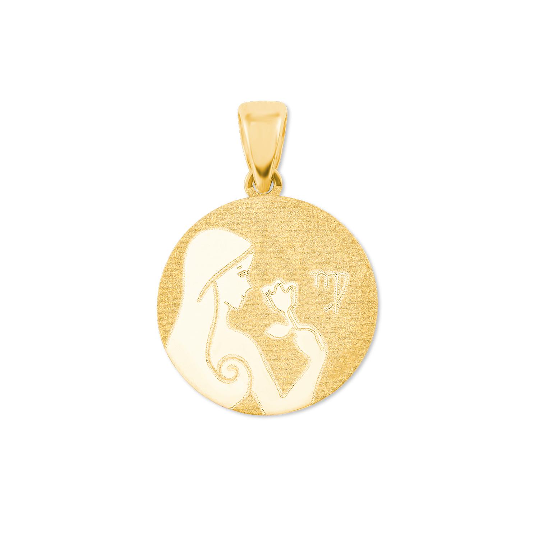 Anhänger Unisex, Gold 375, Jungfrau