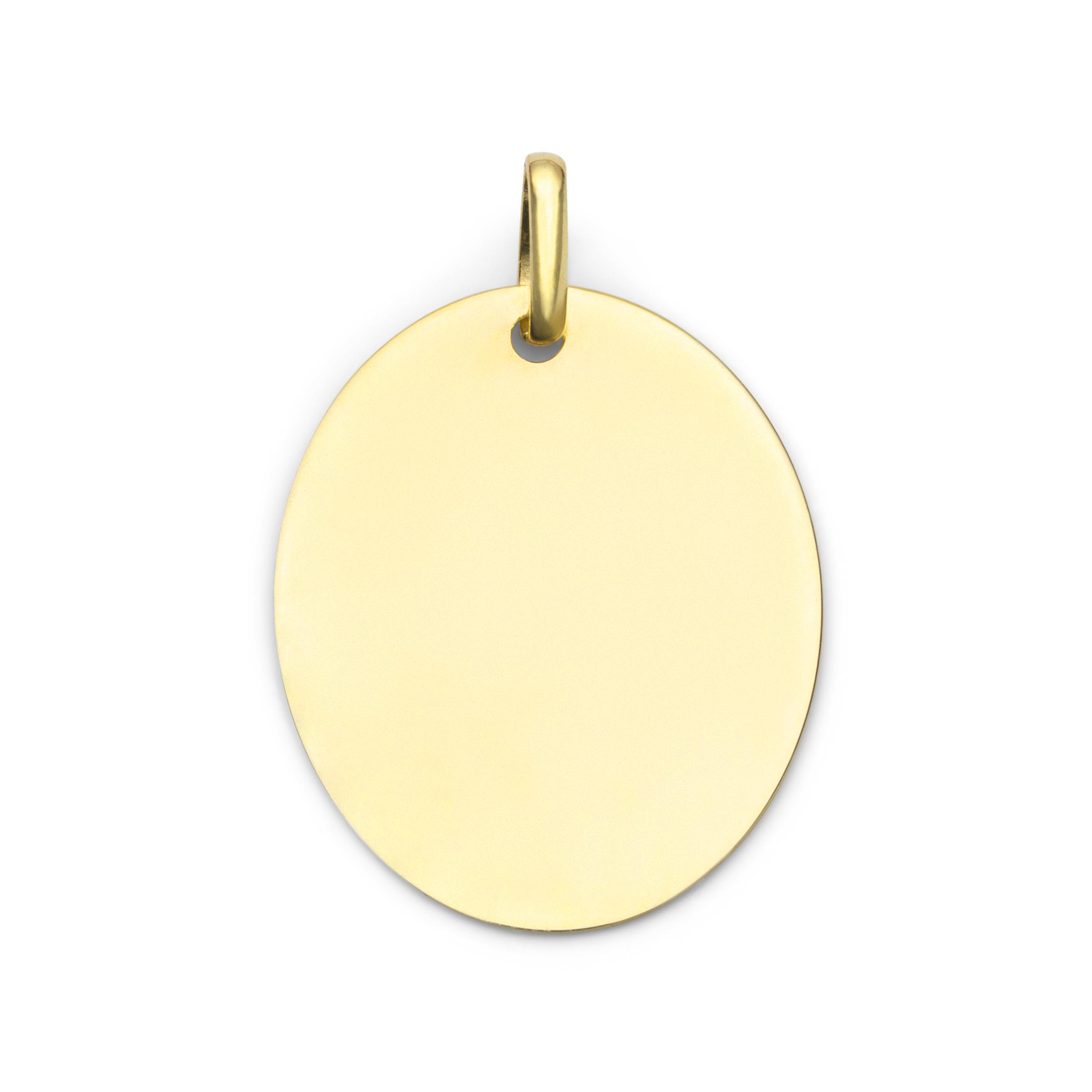 Anhänger Gold 375/9 ct Platte
