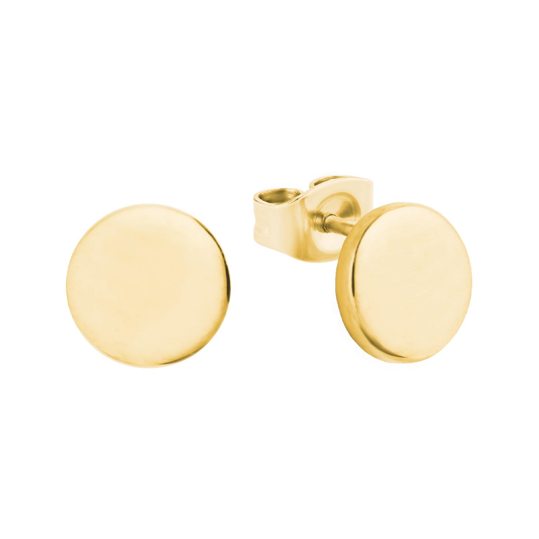 Ohrstecker für Damen, Gold 375, klein
