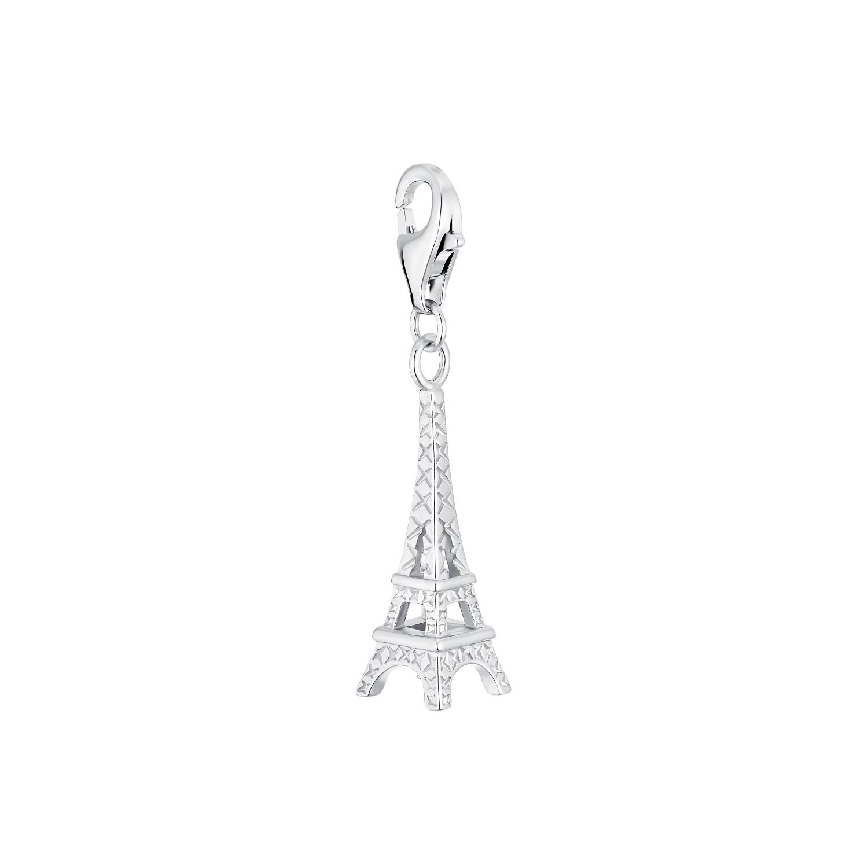 Charm für Damen, 925 Sterling Silber | Eiffelturm