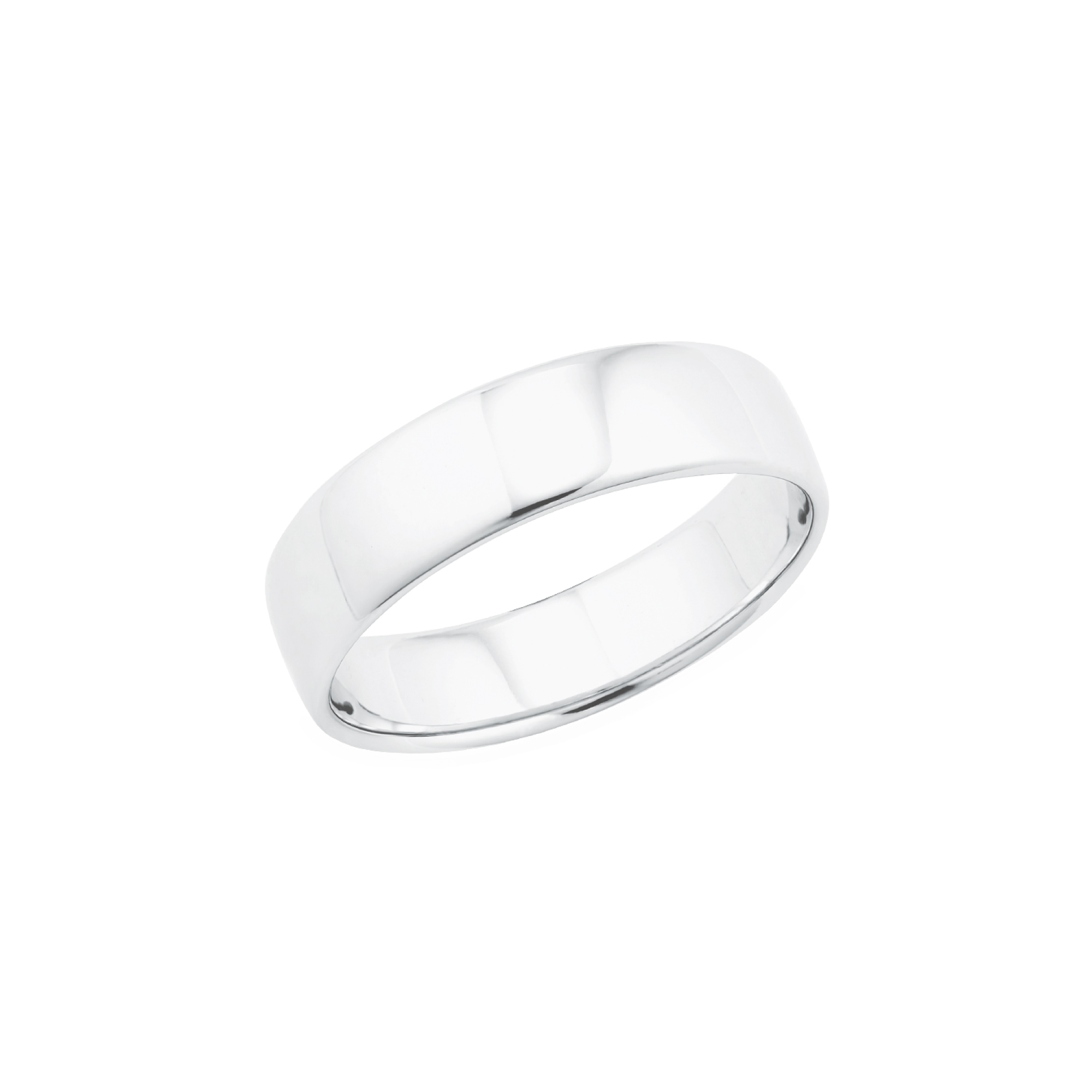 Ring Basic für Herren, Silber 925