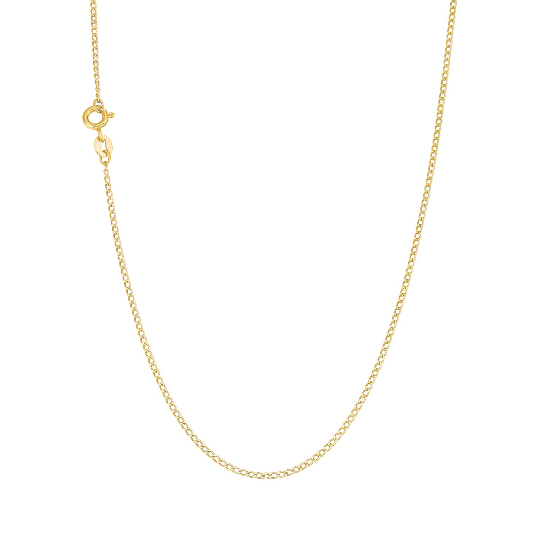 Collier Unisex, Gold 375, Motiv
