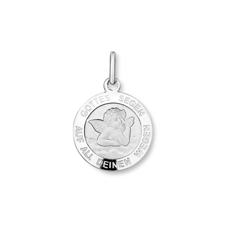 Anhänger Damen Glücksanhänger von amor aus Silber 925 Engel