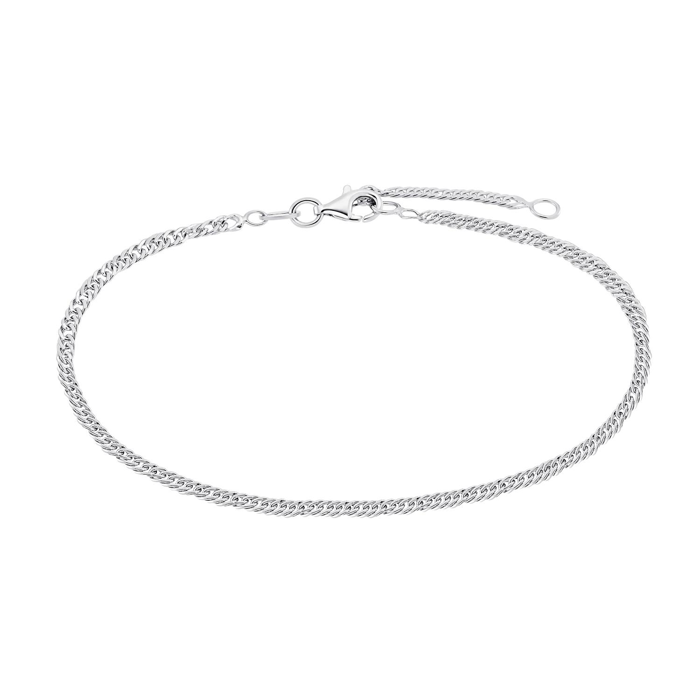 Fußkette für Damen, 925 Sterling Silber