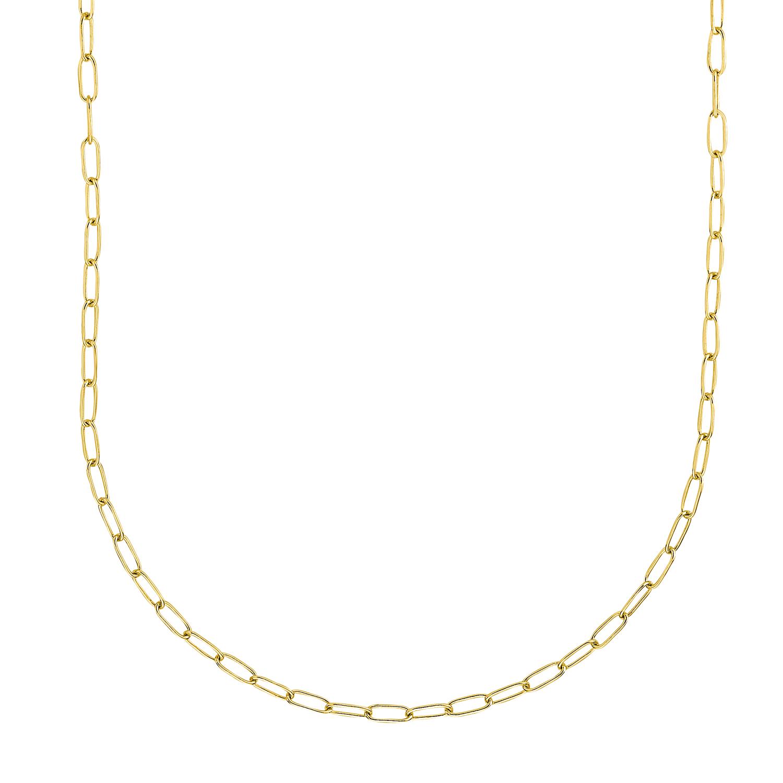 Collier Silber 925, gelbvergoldet kein