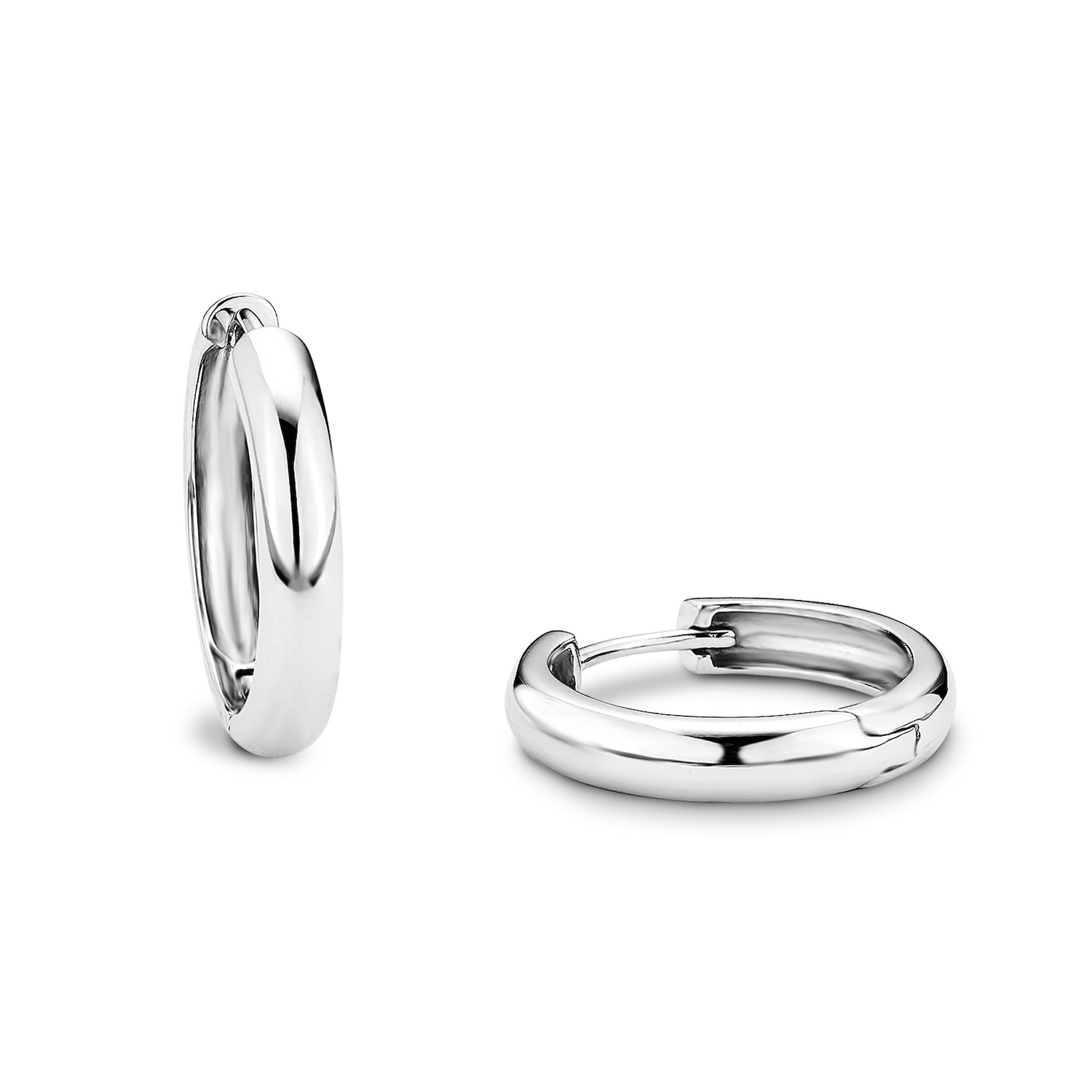 Creole für Damen, Sterling Silber 925