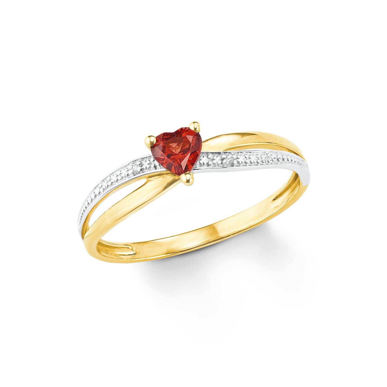 Ring Damen Ring von amor aus Gold 375/9 ct Herz