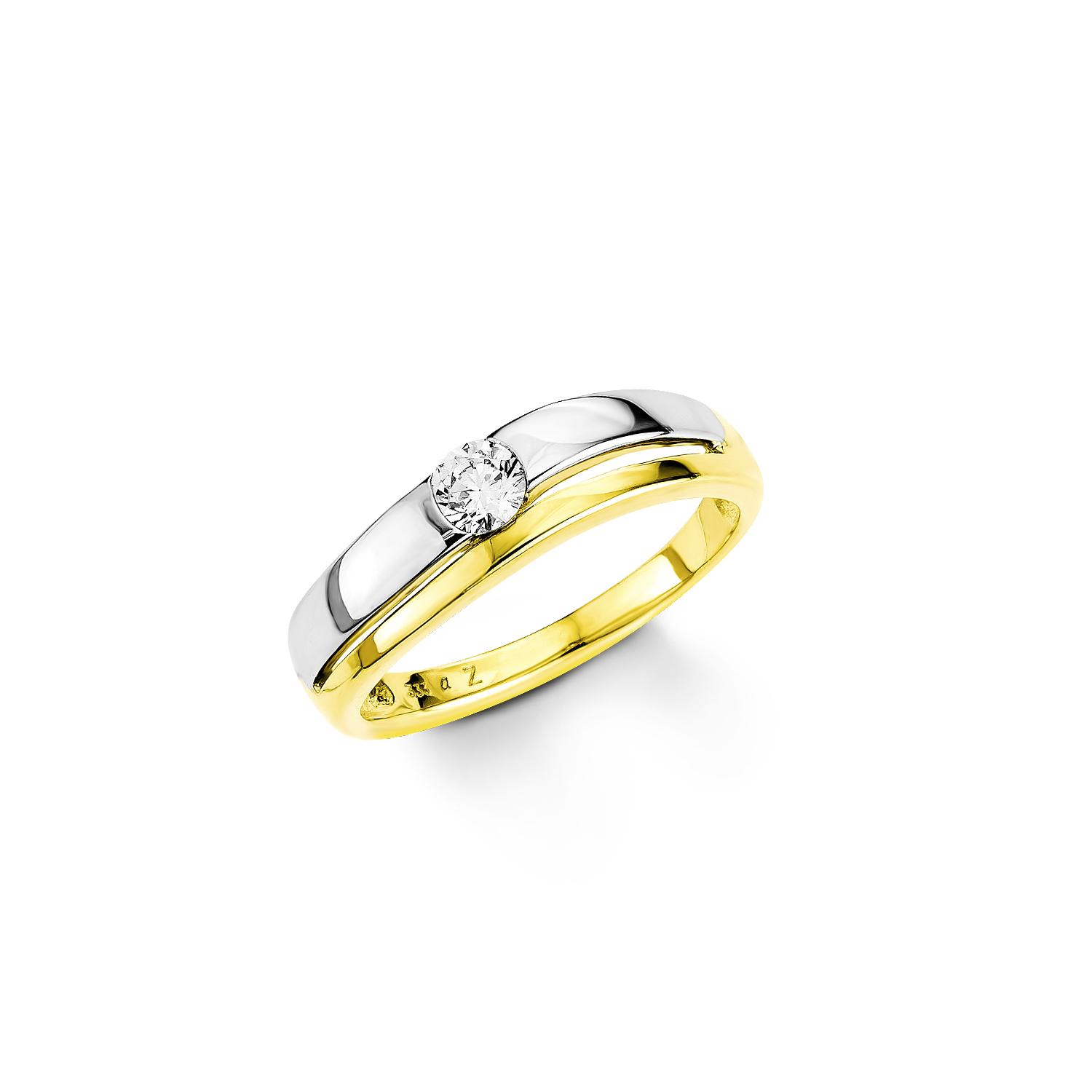 Ring Gold 333/8 ct Zirkonia synth.