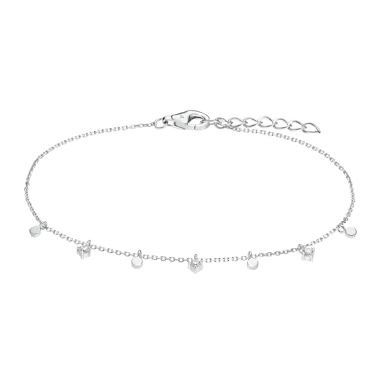 Armband für Damen, Silber 925, Zirkonia