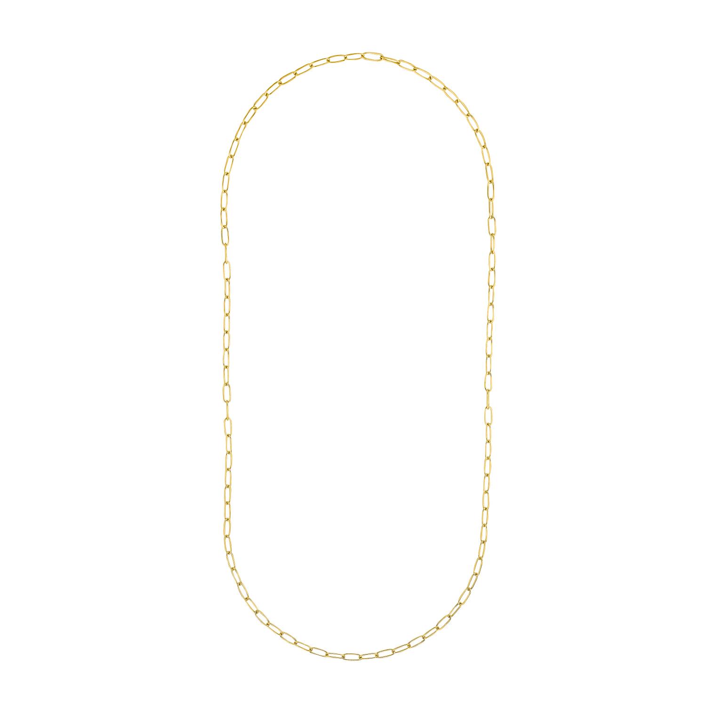 Collier für Damen, Y-Collier, Silber 925 vergoldet