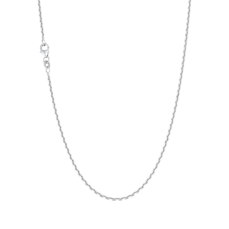 Collier Unisex, 925 Sterling Silber, Ankergliederung 80 cm