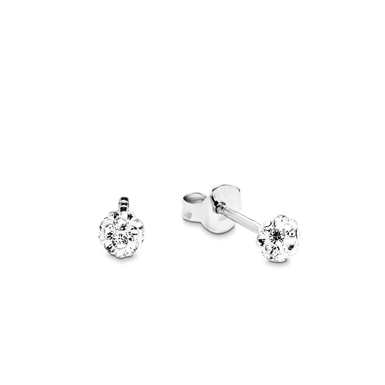 Ohrstecker Silber 925, rhodiniert Swarovski Kristall®