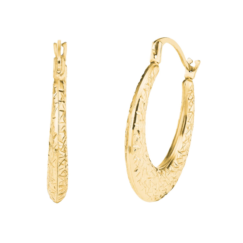 Creole für Damen, Gold 375