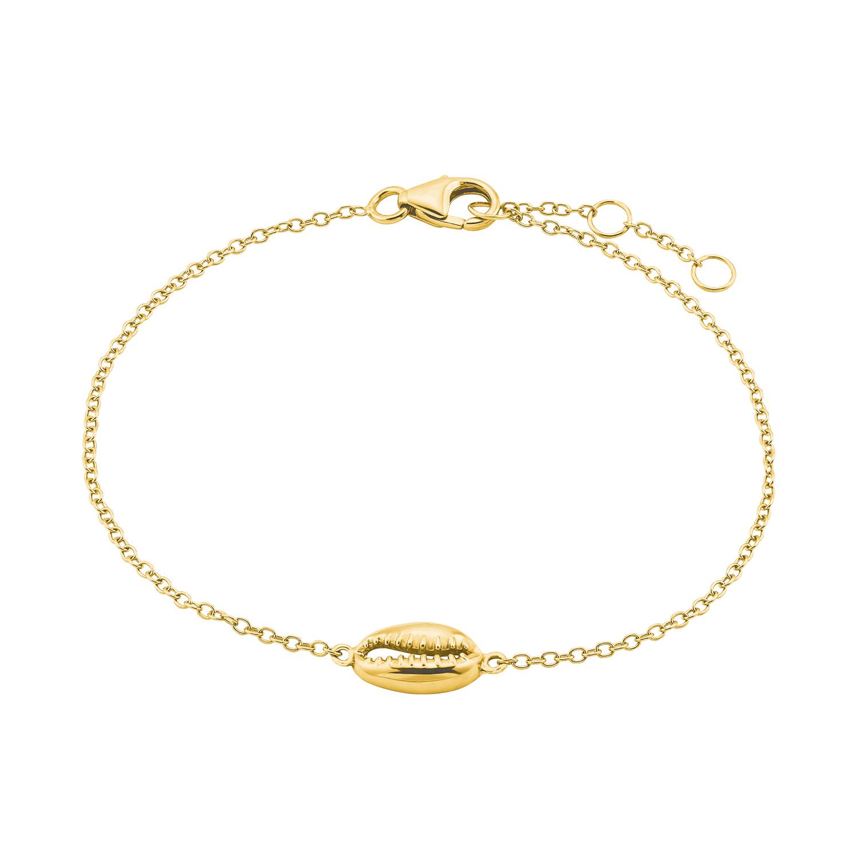Armband für Damen, Sterling Silber 925, Muschel
