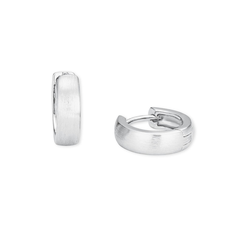 Creolen Silber 925, rhodiniert