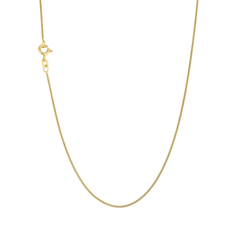 Collier unisex längenverstellbar 35+3cm aus Gold 375